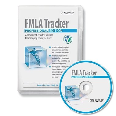 Gradience® S0072GP FMLA Tracker Professional HR Software
