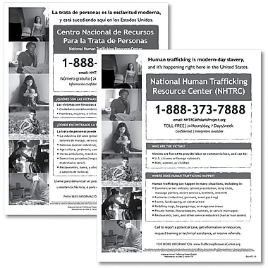 ComplyRight™ Alabama Human Trafficking Bilingual Poster Bundle