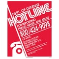 ComplyRight™ DOD Fraud Hotline English Poster