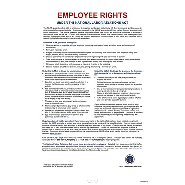 ComplyRight™ National Labor Relations Act Poster