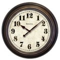 Westclox® 24in. Classic Oversized Wall Clock, Brown