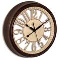 Westclox® 15in. Skeleton Analog Wall Clock