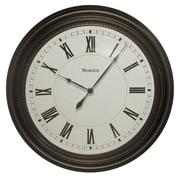Westclox 32223 Plastic Analog Wall Clock, Black