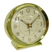Westclox 11605A Metal Analog Baby Ben Table Clock, Ivory/Gold