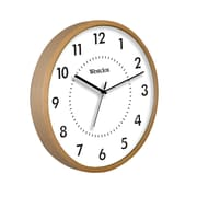 Westclox® 10 Analog Wall Clock, Woodgrain
