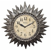 Westclox® 16 Sunburst Gold Analog Wall Clock, Silver