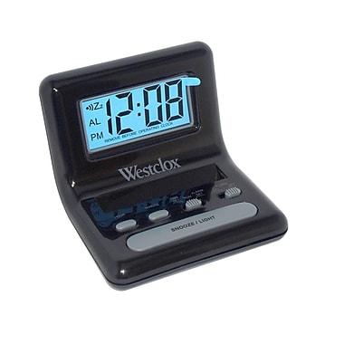 Westclox 47538A Digital LCD Alarm Clock, Black