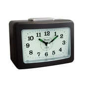 Westclox® 5 1/4 Super Loud Analog Alarm Clock, Black