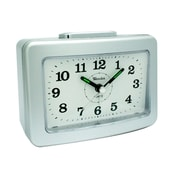 Westclox® 5 1/4 Super Loud Analog Alarm Clock, Silver