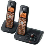 Motorola 6.0 K702B Cordless Phone System with Caller ID & Answering, 2 Handset System