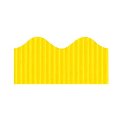 Pacon® – Rouleau de papier cannelé, 48 po x 25 pi, canari