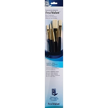 Princeton Artist Brush Real Value Natural Bristle Brush, Each (P9131)