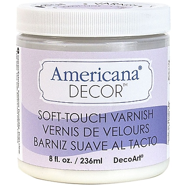 DecoArt® Americana® Decor™ 8 oz.® Decor Varnish, Soft Touch