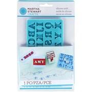 Martha Stewart Alphabet Crafter's Clay Silicone Mold