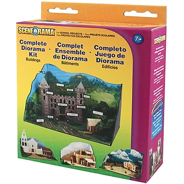 Woodland scenics buildings complete diorama kit staples for Complete barn home kits