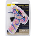 Ad-Tech® Designer Mini Glue Gun, Blue Paisley