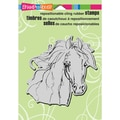 Stampendous® 5.5in. x 4.5in. Cling Rubber Stamp, Filly Sketch