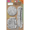 Stampendous® 5in. x 8in. NK Studio Cling Rubber Stamp, Mish Mesh