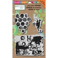 Stampendous® 5in. x 8in. NK Studio Cling Rubber Stamp, Grunge