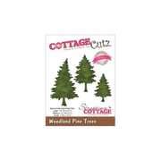"CottageCutz® 1 1/2"" x 2"" Elites Die, Woodland Pine Trees"