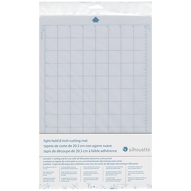 Silhouette® Portrait Light Tack Cutting Mat, 8