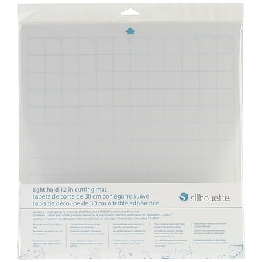 Silhouette® Cameo Light Tack Cutting Mat, 12
