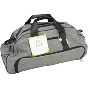 """Silhouette® Cameo Tweed Rolling Tote, 25"""" x 10"""" x 12"""""""