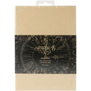 "Graphic 45 Staples Tag Kraft Album Book Box, 4.62"" x 6.62"""
