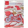 Ecstasy Crafts 3 7/8in. x 2in. Marianne Design Creatables Dies, Motorbike