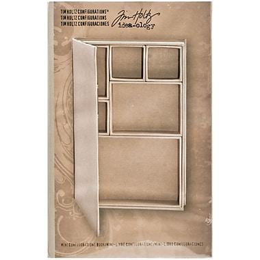 Advantus® Idea-Ology Configurations Mini Chipboard Shadow Box Book, 6