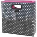 Advantus® Storage Studios Foldaway Tote, Pink/Gray