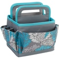 Everything Mary Scrapbook Desktop Organizer, Blue/Gray, 9 3/4in. x 8 1/2in. x 8 1/2in.