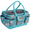 Everything Mary Scrapbook Organizer,Blue/Gray, 14 1/2in. x 9 1/2in. x 7 1/4in.