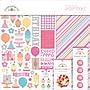 Doodlebug Sugar Shoppe Essentials Page Kit, 12 x