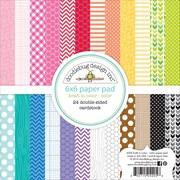 """Doodlebug 6"""" x 6"""" Kraft In Color Paper Pad"""