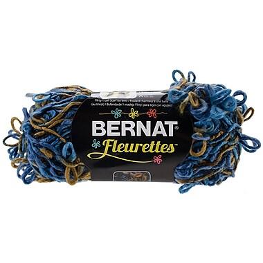 Spinrite® Bernat® Fleurettes Yarn, Sapphire Blue