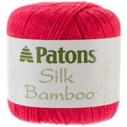 Spinrite® Patons® Silk Bamboo Yarn, Rouge