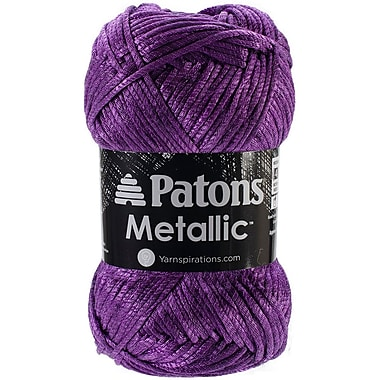 Spinrite® Patons® Metallic Yarn, Dark Purple