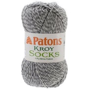 Spinrite® Patons® Kroy Socks Yarn, Grey Marl