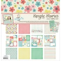 Simple Stories Simple Sets Spring Collection Kit, 12in. x 12in.