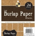Diecuts With A View 6in. x 6in. Specialty Stack, Burlap