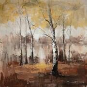"""Yosemite """"Autumn Mist"""" Canvas Art"""