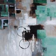 "Yosemite ""Green Movement"" Canvas Art"