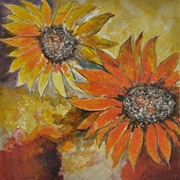 "Yosemite ""Sunburst Flower I"" Canvas Art"