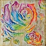 Yosemite Colored Roses I Canvas Art
