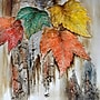 Yosemite Autumn Leaves Canvas Art