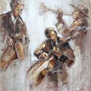 Yosemite Jazz Movement I Canvas Art