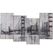 Yosemite Golden Gate Bridge Canvas Art