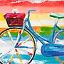 Yosemite Summer Biking Canvas Art