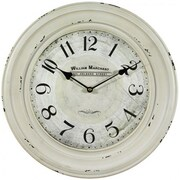 Yosemite Home Decor CLKA1B1068 Analog Wall Clock, Cream